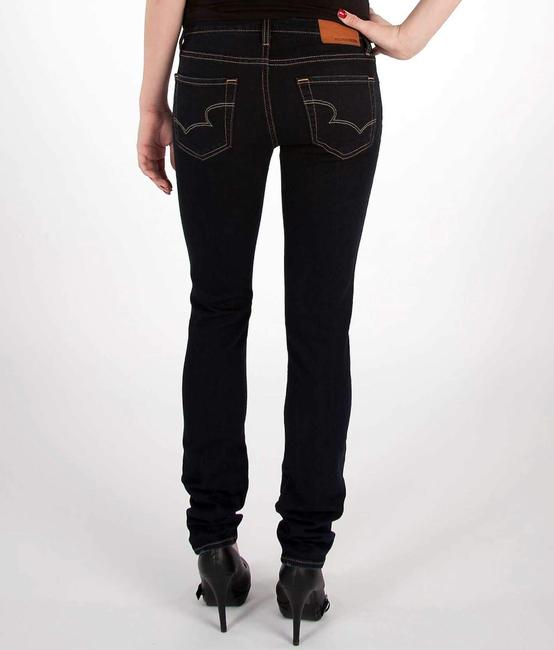 Big Star Stretchy Low Rise Mid Rise Skinny Jeans-Dark Rinse Image 1