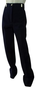 St. John Straight Stretch Straight Pants Black