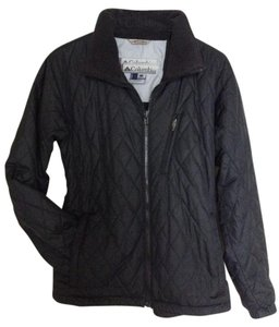 Columbia Activewear Spring Fall Sportswear Black Jacket