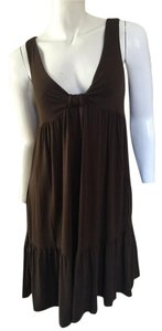 Vince short dress Bow Bow Brown on Tradesy
