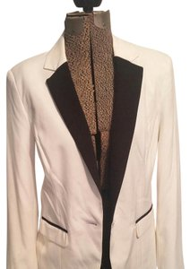 Mossimo Supply Co. White with black detail Blazer