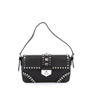 Prada Flap Leather Shoulder Bag