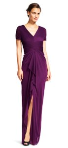 Adrianna Papell Draped Ruched Dress