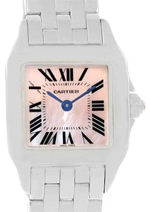 Cartier Cartier Santos Demoiselle Mother Of Pearl Dial Ladies Watch W25075Z5