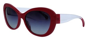 Chanel ** Limited New Elegant Chanel Holiday Special Red Sunglasses 5264 **