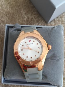 Michele BRAND NEW SMALL 'Jelly Bean' Colorful Topaz Stones Watch MWW12P000010