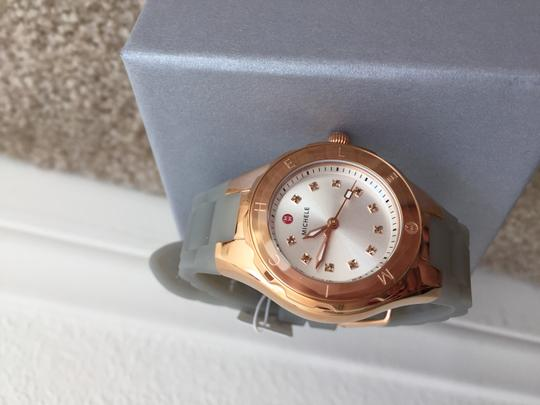 Michele BRAND NEW SMALL 'Jelly Bean' Colorful Topaz Stones Watch MWW12P000010 Image 2