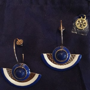 Tory Burch evil eye drop earrings