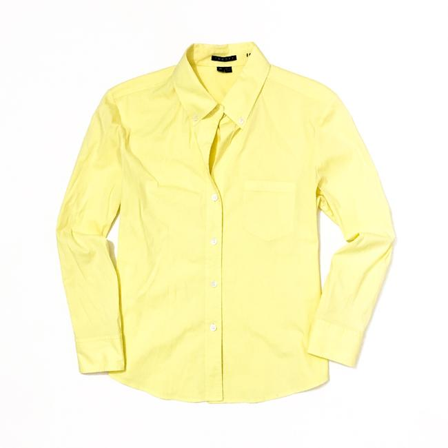 Preload https://img-static.tradesy.com/item/20302796/theory-light-pale-lemon-yellow-kaylind-button-down-top-size-4-s-0-0-650-650.jpg