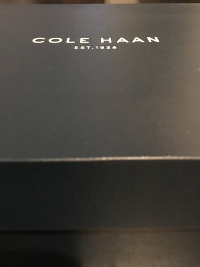 Cole Haan Leather Waterproof Waterproof Leather Short Ankle Chestnut Brown Boots Image 5