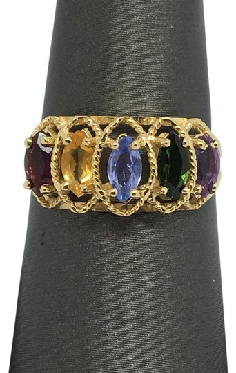 Preload https://img-static.tradesy.com/item/20302943/14k-yellow-gold-multi-color-stone-marquise-shape-ring-0-1-540-540.jpg