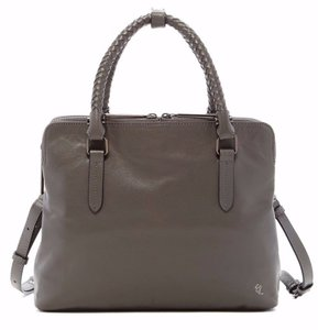 Elliott Lucca Leather Satchel Cross Body Bag