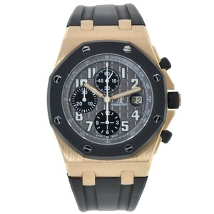 Audemars Piguet Audemars Piguet Royal Oak Offshore Rubberclad Chronograph Rose Gold