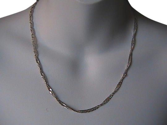 Preload https://item2.tradesy.com/images/sterling-silver-italy-diamond-cut-chain-necklace-2030301-0-0.jpg?width=440&height=440