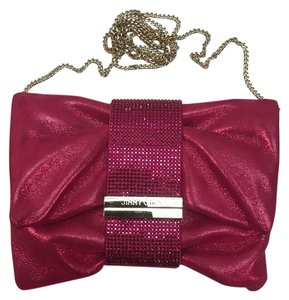 Jimmy Choo Raspberry Pink Clutch