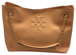 Tory Burch Satchel in light pink, rose, light tan