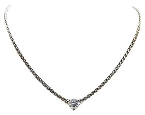 Scott Kay Scott Kay Platinum Necklace With Cubic Zirconia