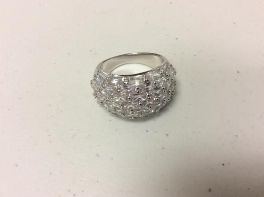 Other Fashion Ring Cubic Zirconia Silver Simulated Diamond Image 2