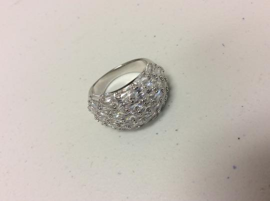 Other Fashion Ring Cubic Zirconia Silver Simulated Diamond Image 3