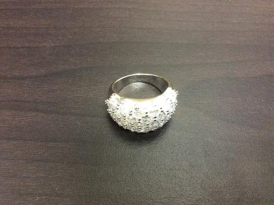 Other Fashion Ring Cubic Zirconia Silver Simulated Diamond Image 5