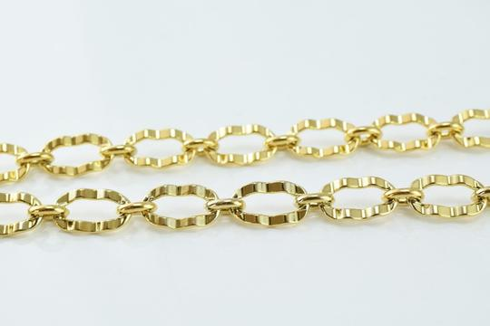 Other Hammered Oval Chains Gold Filled 18KT Necklace Image 1