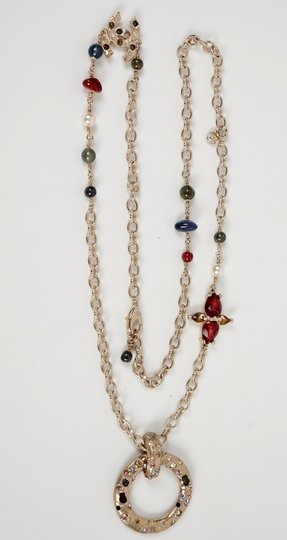 Chanel Long Gold Necklace Image 1