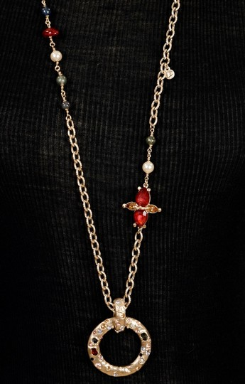 Chanel Long Gold Necklace Image 4