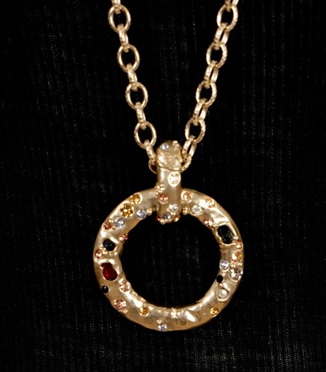 Chanel Long Gold Necklace Image 6