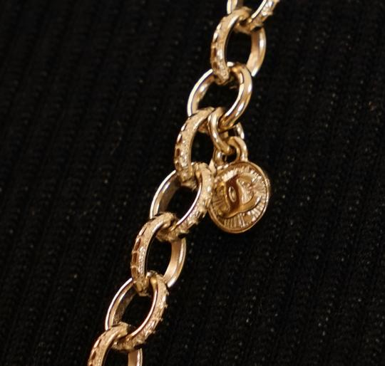 Chanel Long Gold Necklace Image 7