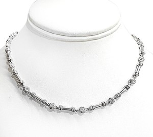 Scott Kay Stunning Platinum Necklace With 2.88 Carats Total Weight Of Diamonds