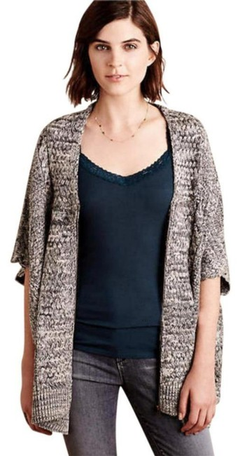 Anthropologie Cool + Comfy Layer Or Not Versatile High Quality Slight Shimmer Top Blue Image 4