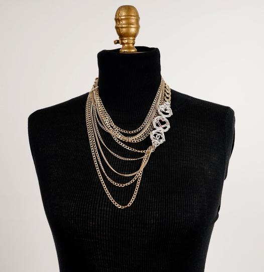 Chanel Long Gold Necklace Image 11
