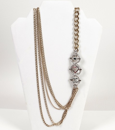 Chanel Long Gold Necklace Image 2