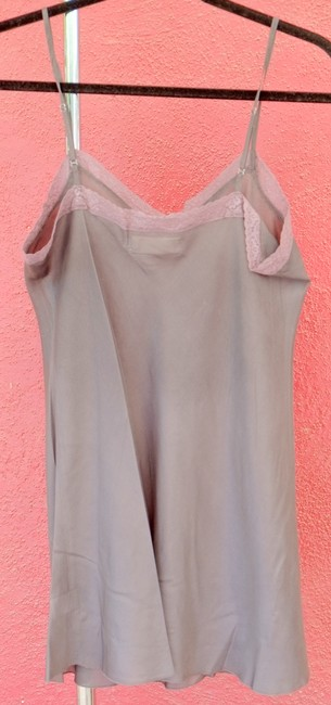 4 Love & Liberty Silk Top Gray