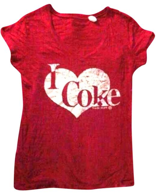 Item - Red Guenuine Tee Shirt Size 14 (L)