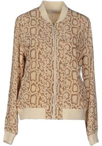 Equipment Animal pattern Beige Jacket