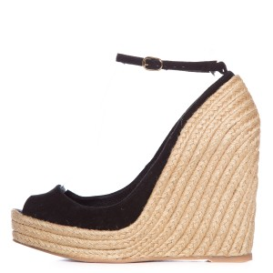 Jean-Michel Cazabat Black & Tan Wedges