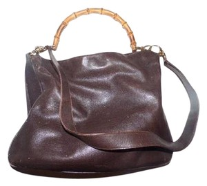 Gucci Excellent Vintage Dressy Or Casual Two-way Style Bantsmboo Acce Sarah Flip-top Style Hobo Bag