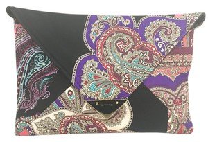Etro Paisley Envelope Multi Clutch
