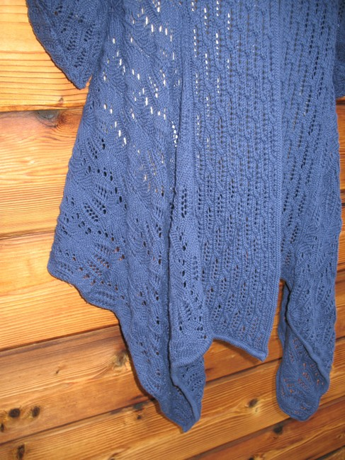 Coldwater Creek Crochet Knit Open Front Cardigan Image 4