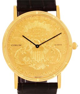 Corum Corum 20 Dollars Double Eagle Yellow Gold Coin Year 1904 Watch