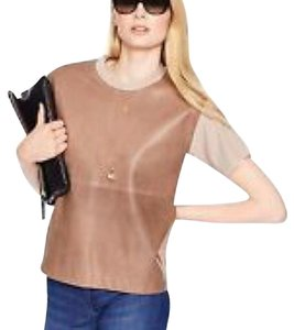 Kate Spade T Shirt Brown beige taupe