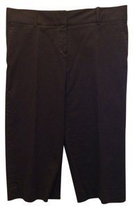 Michael Kors Cotton Capris brown