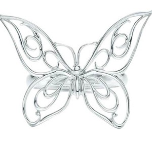 Tiffany & Co. Tiffany & Co Butterfly Ring in Sterling Silver.