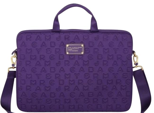 "Item - Dreamy Logo 15"" Purple Neoprene Laptop Bag"