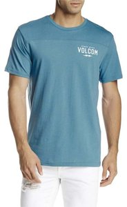 Volcom Crew Neck T Shirt Blue