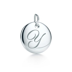 Tiffany & Co. Tiffany & Co Silver Initial Y Charm Small