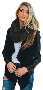 Aris Aris Womens Cable Knit Infinity Scarf & Bag #FG-L-YS-3612P