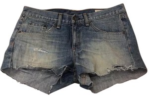 Rag & Bone Cut Off Shorts denim
