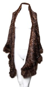 Mink Scarf/ wraps * Mink Fur Over Shoulder Scarf / Wrap
